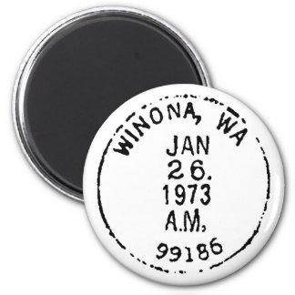 Winona Ghostmark Fridge Magnets