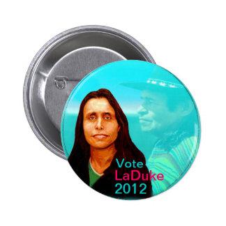 Winona LaDuke 2012 Button