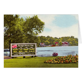 Winona Lake, Indiana Entrance Card