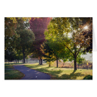 Winona Lake Path Notecard