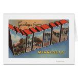 Winona, Minnesota - escenas grandes de la letra Tarjeta De Felicitación