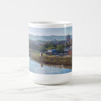 Winona MN Mug View of City