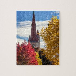Winona MN Puzzle Church in Fall