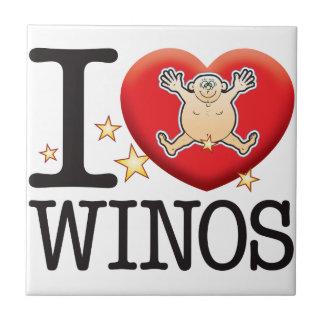 Winos Love Man Ceramic Tile