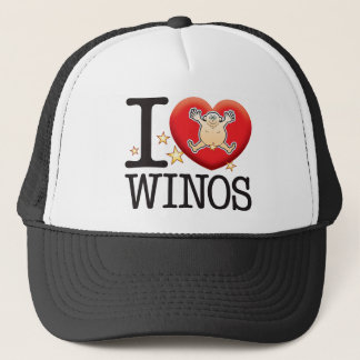 Winos Love Man Trucker Hat