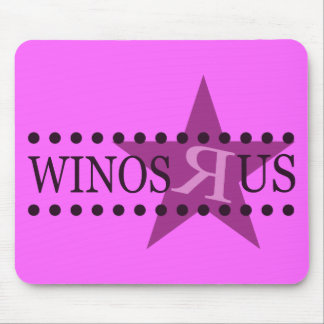 Winos R Us (Purple) Mouse Pad