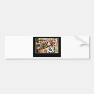 winslow arizona car bumper sticker