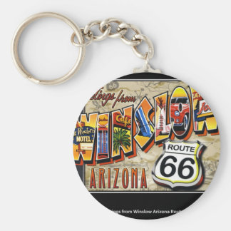winslow arizona keychain