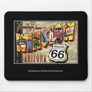 winslow arizona mouse pad