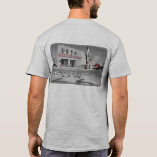 Winslow Arizona Red Splash Photograph T-Shirt