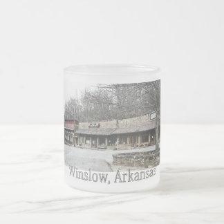 Winslow, Arkansas Frosted Mug