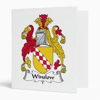 Winslow Family Crest Binder