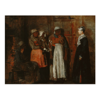 Winslow Homer - A Visit from the Old Mistress Postcard