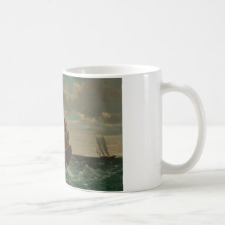 Winslow Homer - Breezing Up (A Fair Wind) Coffee Mug