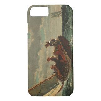 Winslow Homer Breezing Up Vintage Fine Art iPhone 8/7 Case