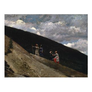 Winslow Homer - en las montañas Postal