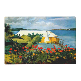 Winslow Homer - Flower Garden and Bungalow Placemat