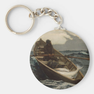 Winslow Homer Fog Warning Keychain