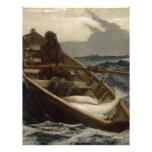 Winslow Homer Fog Warning Letterhead Design