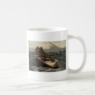 Winslow Homer Fog Warning Classic White Coffee Mug