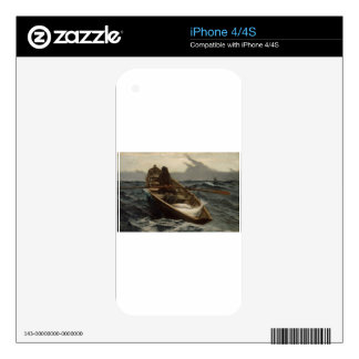 Winslow Homer Fog Warning Decal For The iPhone 4S