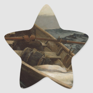 Winslow Homer Fog Warning Star Sticker