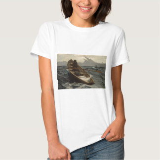 Winslow Homer Fog Warning T-shirt