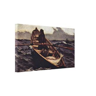 Winslow Homer - Fog Warning (The Fog Warning) Canvas Print