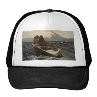 Winslow Homer Fog Warning Trucker Hat