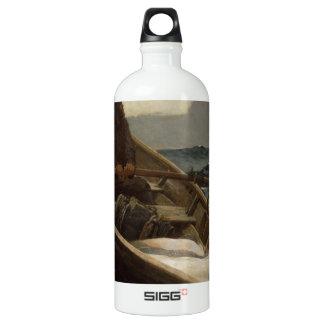 Winslow Homer Fog Warning Water Bottle