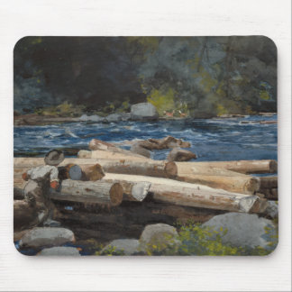 Winslow Homer - Hudson River Mouse Pad