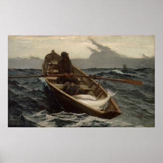 Winslow Homer la advertencia de la niebla Impresiones
