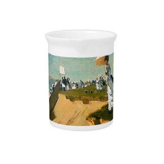 Winslow Homer - Long Branch, New Jersey Drink Pitcher