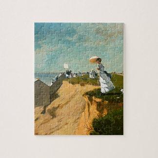 Winslow Homer - Long Branch, New Jersey Jigsaw Puzzle