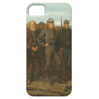 Winslow Homer - Prisoners from the Front iPhone SE/5/5s Case