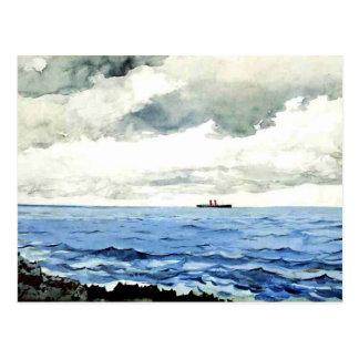 Winslow Homer que pinta, Bermudas Postales