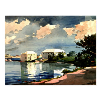 Winslow Homer - Salt Kettle, Bermuda Postcard