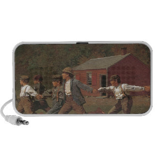 Winslow Homer Snap The Whip Notebook Speakers
