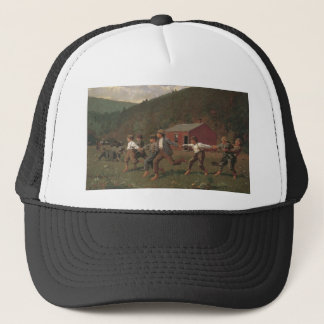 Winslow Homer Snap The Whip Trucker Hat