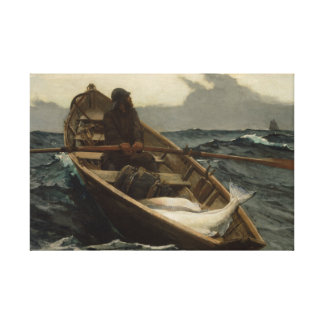 Winslow Homer - The Fog Warning Canvas Print