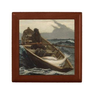 Winslow Homer - The Fog Warning Keepsake Box