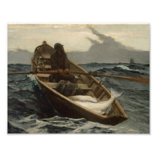 Winslow Homer - The Fog Warning Photo Print