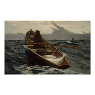 Winslow Homer The Fog Warning Poster