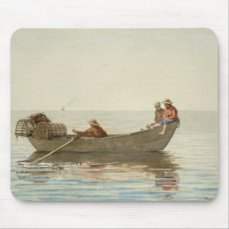 Winslow Homer - Three Boys in a Dory Mouse Pad
