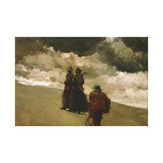 Winslow Homer - To the Rescue Canvas Print