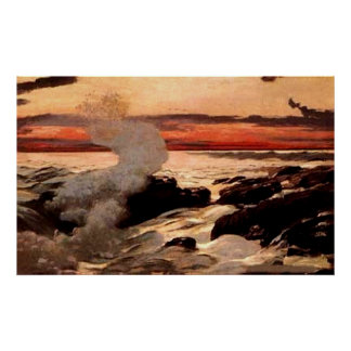 """Winslow Homer's """"Prout's Neck"""" - Print"""