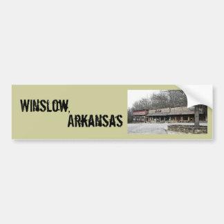 Winslow, pegatina para el parachoques de Arkansas Pegatina Para Auto