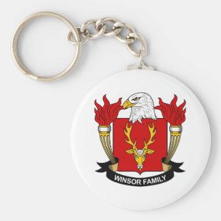 Winsor Family Crest Keychain