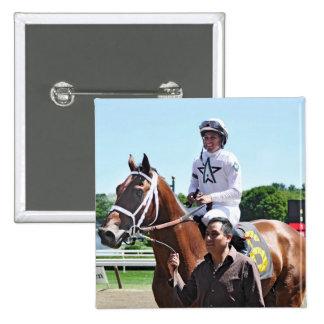 Winstar Farm's King Cyrus Pinback Button