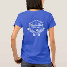 Winston Bros. Auto Shop Shirt - Cletus at Zazzle